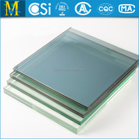 CSI approved PVB EVA SGP Laminated Glass with Favorable Price