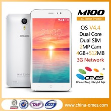 M100 Hot Selling MTK6572 Unlocked Chinos Android Telefonos Moviles