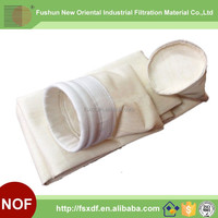 High chemical resistance Anti-corrosion PPS filter bag for steel industry