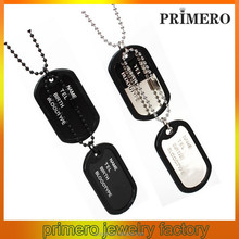 PRIMERO fashion wholesale jewelry birthstone dog tag Pet Supplies Cat dog tag pendant ID cards Diamond dog tag