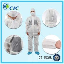 tessuto non tessuto monouso bianco a buon mercato indumenti da lavoro tute meccanico per i bambini