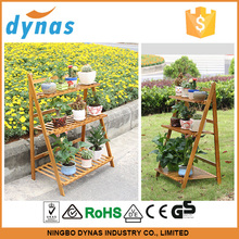 2015 hot selling foldable flower display pot rack