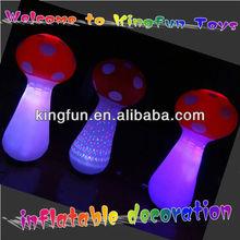 Chrismas inflatable lighted mushroom decoration