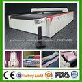 mesa de corte a laser de CO2 para o corte de tecido