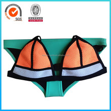2015 New Collection Girl Sexy Neoprene Swimwear