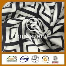 Garment use woven twill polyester viscose fabric wholesale