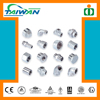 Taiwan high quality pipe fitting plastic clip, four-way pipe fitting, stainless steel pipes and fittings