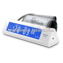 Newest with maximum 60 records LED backlight as omron blood pressure monitor arm blood pressure monitor with FDA