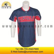 dye sublimation baseball&softball jerseys