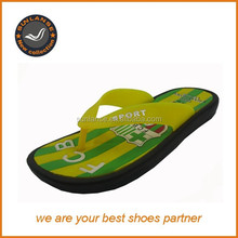 China EVA material flip flop for man