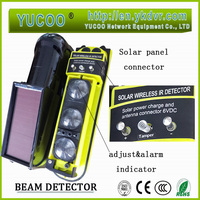 20m 30m outdoor motion detector solar power security