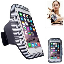 Factory price sports armband case for iphone 6 with LED light