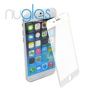 Wholesale Mobile Phone Accessory for iPhone, Premium 100% Full Cover Color Tempered Glass Screen Protector for iPhone 6