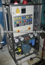 reverse osmosis desailination water treatment equipment with water tank chemical free
