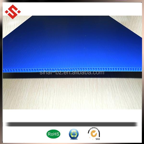 blue packing sheet