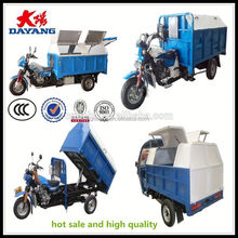 made in china 150cc air cooling tricycle used for garbage with ccc in Nigeria