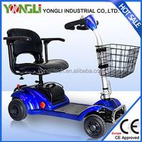 two wheel electric scooter/steering wheel/folding wheelchair