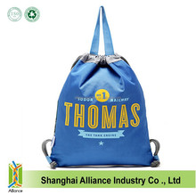 Free Design Hot Selling Top Quality String Polyester Backpack Bag For Shopping