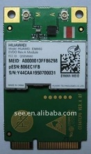 New arrial HUAWEI EM660 mini PCI-E WLAN internel network card (unclocked) for Asia/North Ameircan CDMA