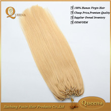hot new products for 2015 ebay china website vigin hair dubai virgin blond human hair dubai wholesale miro loop hair extension