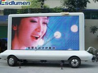 Hot sale P12mm outdoor fullcolor advertising led mobile billboard for truck