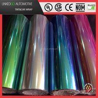 High quality 0.3*10M color changing chameleon headlight film car lamp film taillight tinting color film