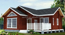 large prefabricated timber house