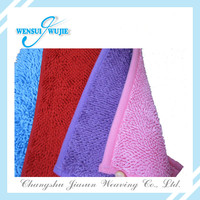 popular rectangle shape chenille floor mats for office chairs