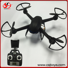 Delivery in time Factory outlet Good quality DM007 update headless 2.4G 4CH 6-Axis wifi fpv rc spy Drone Copter with HD camera.
