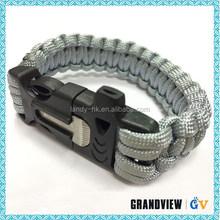 2014 Paracord Survival Bracelet military knife survival knife for,meaning braided rope bracelets