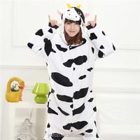 Cute Cow Christmas Couple Pajamas matching family AnimalJumpsuits