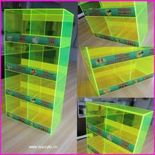 Acrylic Perspex Plastic Counter Retail Cell Phone Charger Accessories Display Shelf Show Case