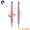 Shibell crystal ball pen, rotating touch ball pen, diamond stylus touch pen