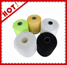 core spun 100% polyester covered spandex yarn