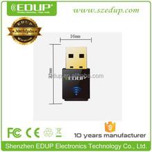 300M realtek rtl8192 Mini ieee 802.11g/b wireless usb adapter usb network cards EP-N1557