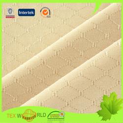 diamond pattern plain jacquard 92% nylon 8% spandex fabric