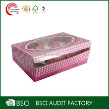 Hot selling fancy cardboard cupcake holder wholesale in shanghai
