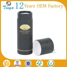 factory accept paypal cylindrical paper box