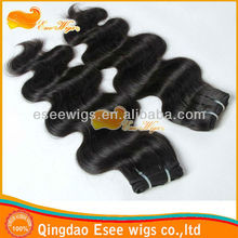 """2013 factory wholesale 5a grade virgin hair premium too weft hair extensions 6""""-34 inch in stock"""