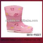 venda quente bonito crianças botas de pvc para as meninas