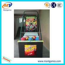 Updated Street basketball machine/best sell street hoop basketball machine