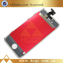 china mobile parts digitizer for iphone 4s touch screen assembly, lcd front screen completed for iphone 4s