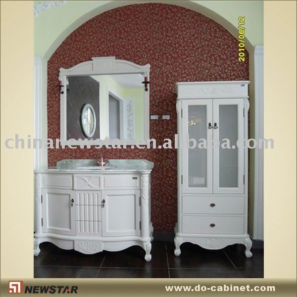 en bois massif de salle de bains shabby chic meuble lavabo de salle de bain id du produit. Black Bedroom Furniture Sets. Home Design Ideas