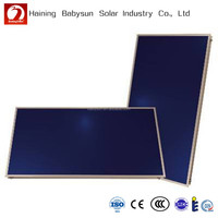 2015 China hot sell split pressure flat plate solar water heater collector, flat plate solar water heater