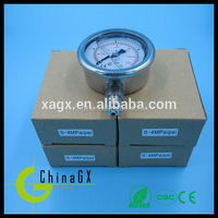 GXPG series All stainless steel dry pressure gage