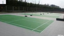 ZSFloor PP interlocking floor basketball/soccer/badminton/tennis court sport tile