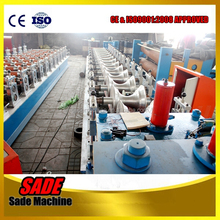 Hot sale! PLC Control Metal Roofing Ridge Cap Roll Forming Machine, Ridge Cap Roll Forming Machine, Ridge Cap Making Machine