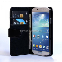 New arrival with card slots wallet leather case For Samsung S5 mini