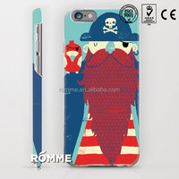 phone case cover printing manufacture custom printed high quality 3D sublimation shell for iphone 6
