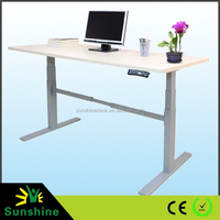 Ergonomic Electric Adjustable Height Office Teacher Desk